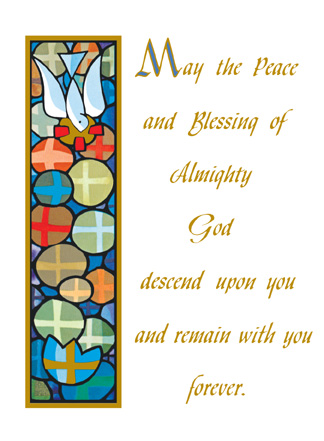 Mass Cards Deceased Peace Of God
