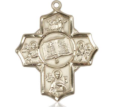 14kt Gold Apostle 5-Way Medal