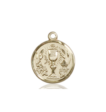 14kt Gold Communion Chalice Medal